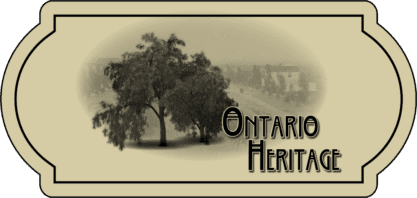 Ontario Heritage logo